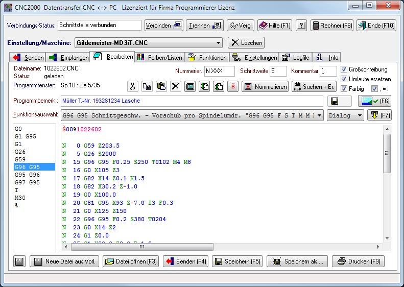 klein pc programmieren